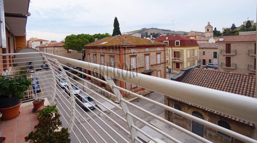 appartamento panoramico 65 mq in centro