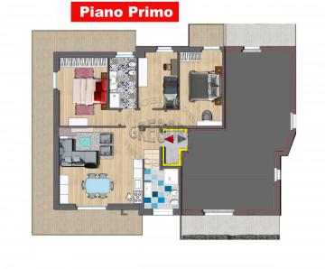 appartamento nuova costruzione 96 mq piu terrazzi vista mare